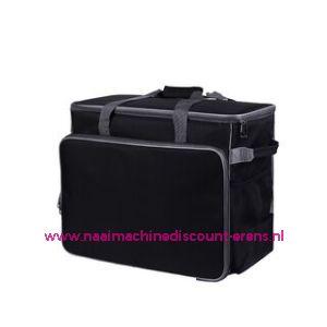 BabySnap naaimachine tas XL ( 50x26x38cm ) Zwart