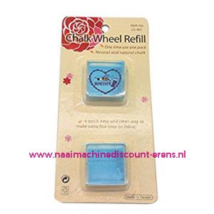 Chalk Wheel Refill Blauw