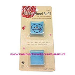Chalk Wheel Refill Blauw