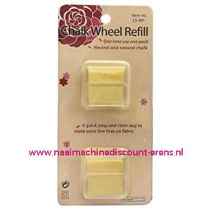 Chalk Wheel Refill Geel