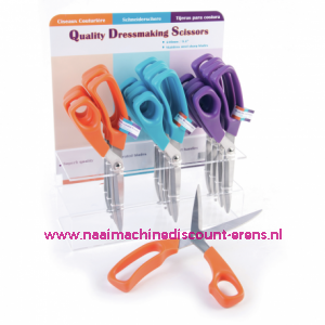 Quality Dressmaking Scissors 24cm Blauw