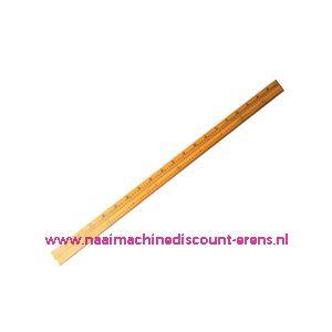 Meetstok hout 100 Cm