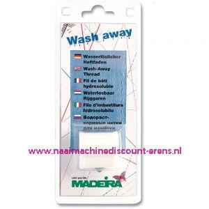 Madeira Wash Away wateroplosbare rijgdraad