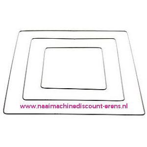 Metalen frame vierkant 40 Cm