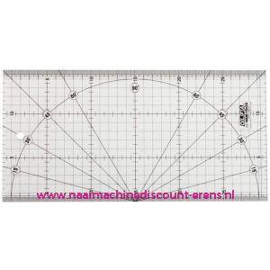 Olfa MQR 15 x 30 Cm Quilt Liniaal