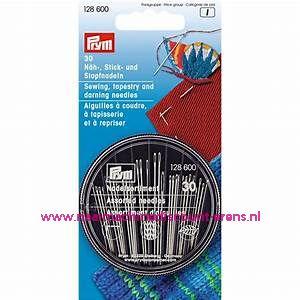 Naai-, borduur- en stopnaalden in een naaldenbox Prym art.nr. 128600