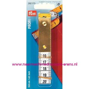 Centimeters Profi Metaal plaatje 150Cm / 60 Inch prym art. nr.282175