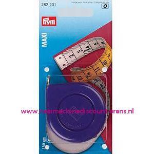 "Rolcentimeters Maxi Cm/Cm ""PAARS"" 150 Cm Prym art.nr. 282201"