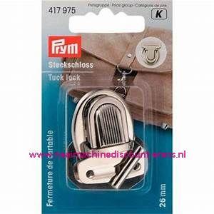 """TT-slot / Insteekslot """"zilver"""" prym art.nr. 417975"""