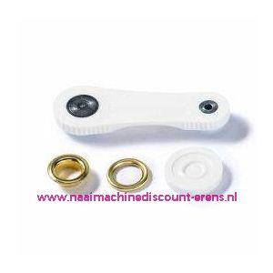 Ringen met schijven 11 mm 120 stuks Goud Prym art.nr. 542425