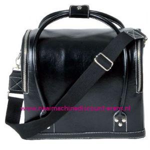 Koffer lederimitatie zwart Prym art. nr. 612822