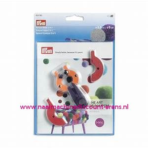 Pompom maker 2 in 1 - 2 maten Prym art. nr. 624180