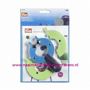 Pompom maker 2 in 1 - 2 maten Prym art. nr. 624182