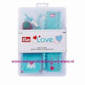 LOVE Naaiset Luxe Start Set Blauw prym. art. nr. 651222