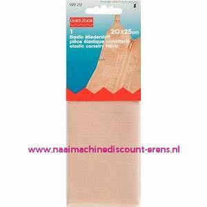 Elastische Korsetstof 20 x 25 Cm Huidskleur prym art.nr. 929212