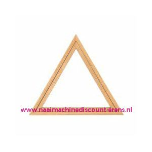 Rico-Design Driehoek 21 x 18,3 Cm nr. 95332.00.00