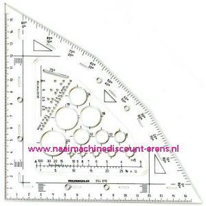 Rumold Techno Combi-Winkel Transparant