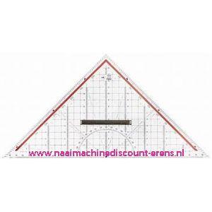 Rumold technische tekening driehoek - 32,5 cm