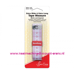 sew easy extra lang 300 Cm en extra breed 24 Mm