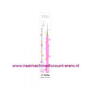 Tulip Kralen priem softgrip roze