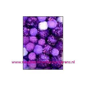Zak met 50 pompoenen in paars tinten - 12233/3306